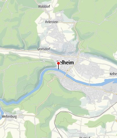 Karte / Bootsausstieg Kelheim-Fischerdörfl