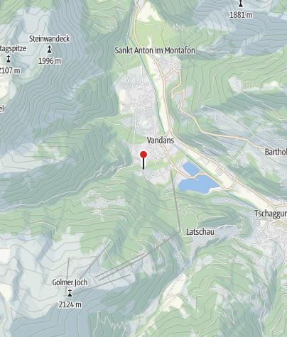 Karte / Wildbachverbauung