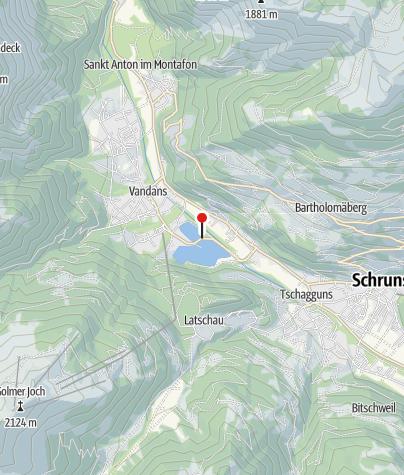 Karte / Das Illwerke Zentrum Montafon