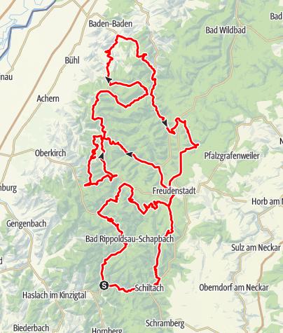 Karte / Rote Lache