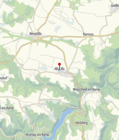 Karte / Gasthaus Kainrath