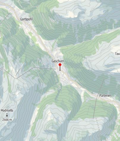 Karte / Bergrettung Gaschurn