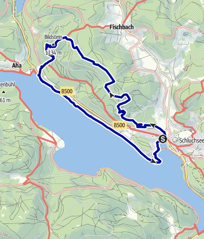 Map / Schluchsee Hunter´s Hike (Schluchseer Jägersteig)