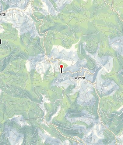 Karte / Berghotel Wiedener Eck