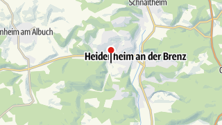 """Karte / Ferienwohnung """"Am Wildpark"""""""