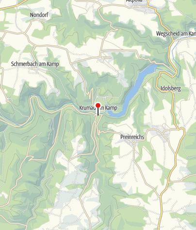 Karte / Gasthaus Zum goldenen Kreuz