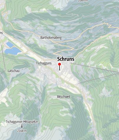 Karte / Ferienwohnung Willi
