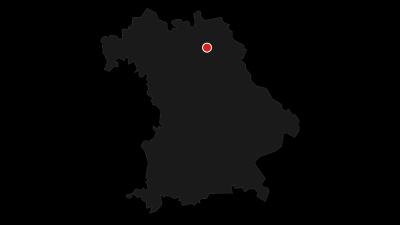 Karte / Sächsisch-Bayerisches Städtenetz: Bayreuth - Hof 1a/4