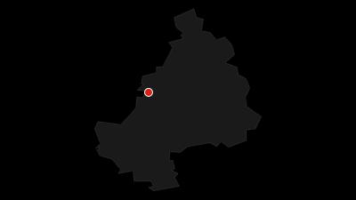Karte / Sächsisch-Bayerisches Städtenetz: Bayreuth - Hof 1b/4