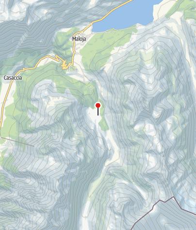Karte / Hub** Lägh Cavaloc, Maloja