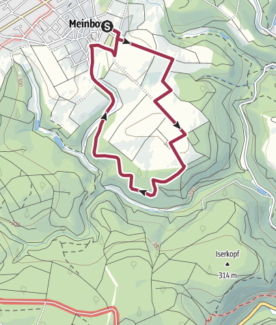 Map / M1 Meinborn
