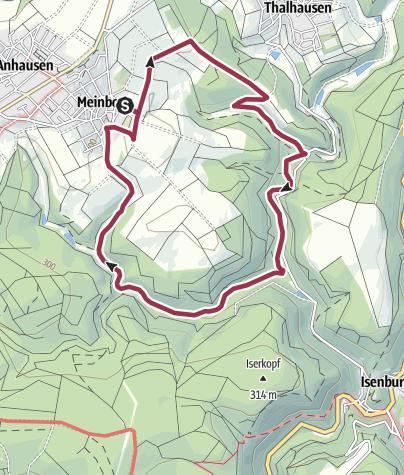 Karte / M2 Meinborn