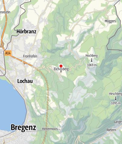 Karte / Eichenberg, Katholische Pfarrkirche Heiliger Bernhard
