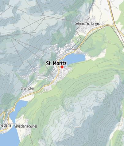 Karte / Hub*** Leichtathletikanlage, St. Moritz