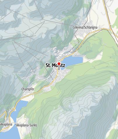 Karte / Hub*** Eisarena Ludains, St. Moritz