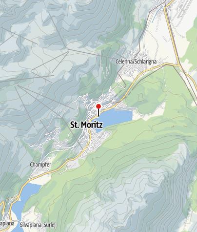 Karte / Hub*** Segelzentrum, St. Moritz