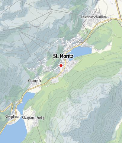 Map / Hub** Signalbahn, St. Moritz