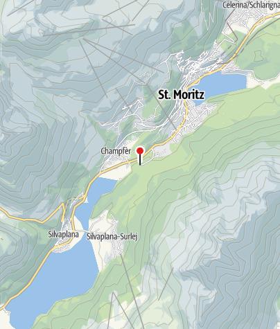 Carte / Hub** Lej Marsch, St. Moritz