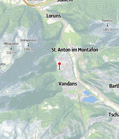 Karte / Ferienwohnung Valkastiel