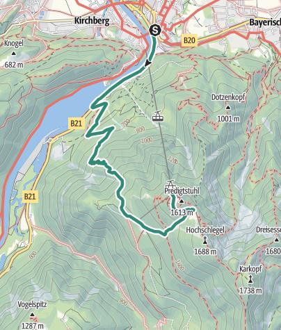 Karte / Waxriessteig