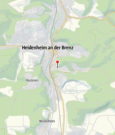 Karte / Apartment Heidenheim