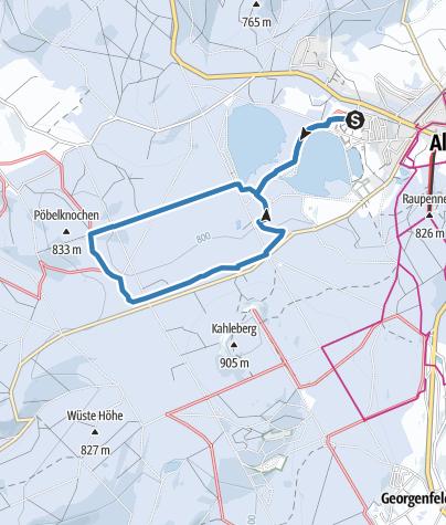 Karte / Altenberg / Schellerhau - Rund-Loipe Osterzgebirge (L2)