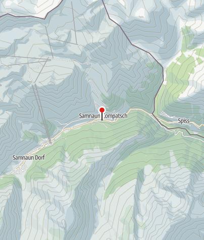 Map / Parkplatz Sennerei, Samnaun-Laret