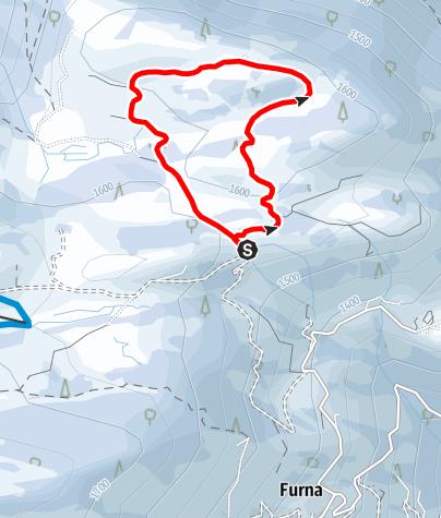 Map / Furna - Ried Rundtour