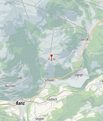 Karte / Wasserbrunnen Volg Falera