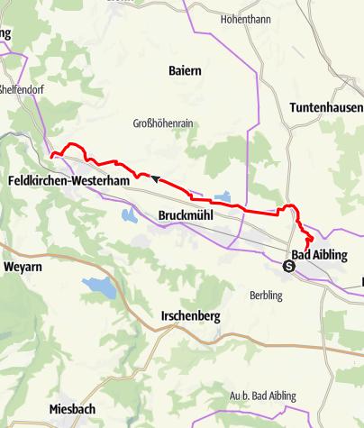 Karte / Samerweg