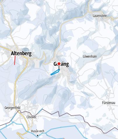 Karte / Altenberg / Geising