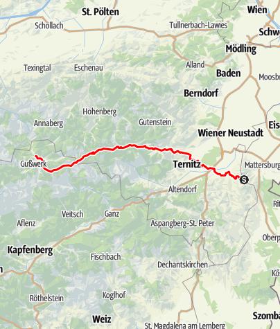 Karte / Burgenländischer Mariazellerweg (06)