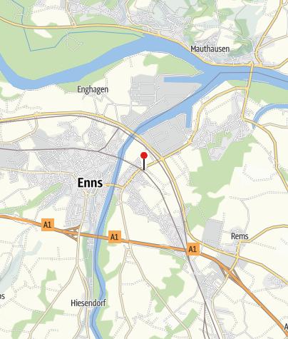 Map / Bahnhof Ennsdorf