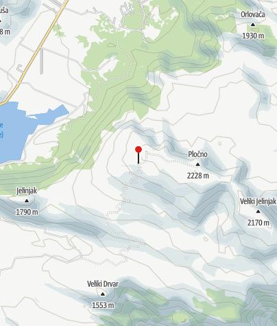 Mapa / HGSS Mostar-Pločno