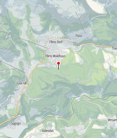 Karte / Wasserbrunnen Uaul La Cauma