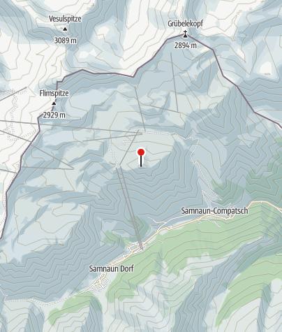 Map / Piz Munschuns