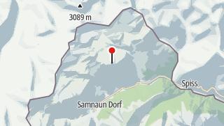Karte / Piz Munschuns