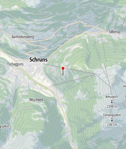 """Map / Gästehaus """"Schrunsblick"""""""