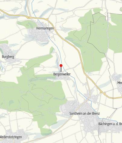 Karte / Mühlenplatz Bergenweiler