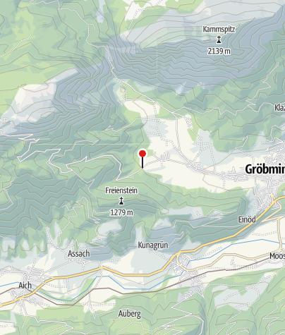 Karte / Bewegungsarena Gröbmingerland - Gröbminger Alm