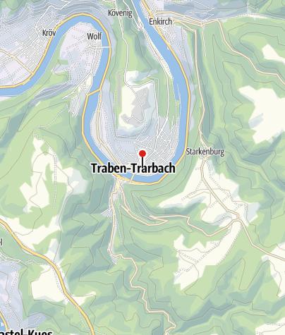 Karte / Fahrradbox Busbahnhof Traben