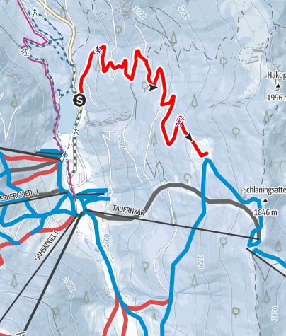 Map / Winter Hiking Trail-Sonnalm