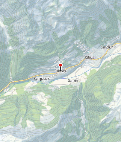 Karte / Sumvitg turissem