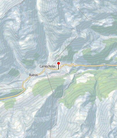 Kaart / Sedrun Disentis Tourismus (Sedrun)