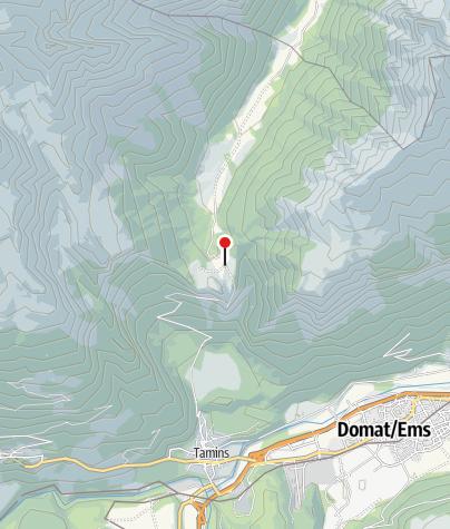 Karte / Berggasthaus Überuf Kunkelspass