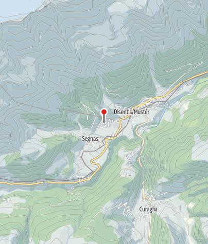 Map / Kapelle St. Maria, Acletta