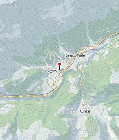 Karte / Kapelle St. Jakob d. Ae. in Cuoz