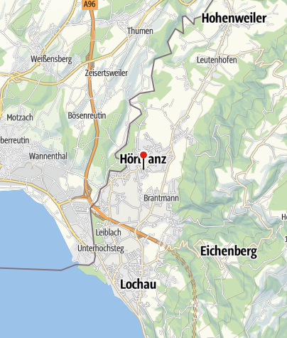 Karte / Hörbranz, Katholische Pfarrkirche Heiliger Martin