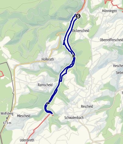 Karte / Eisvogelwanderweg