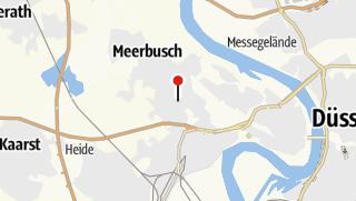 Karte / Garni-Hotel Zum Deutschen Eck Meerbusch